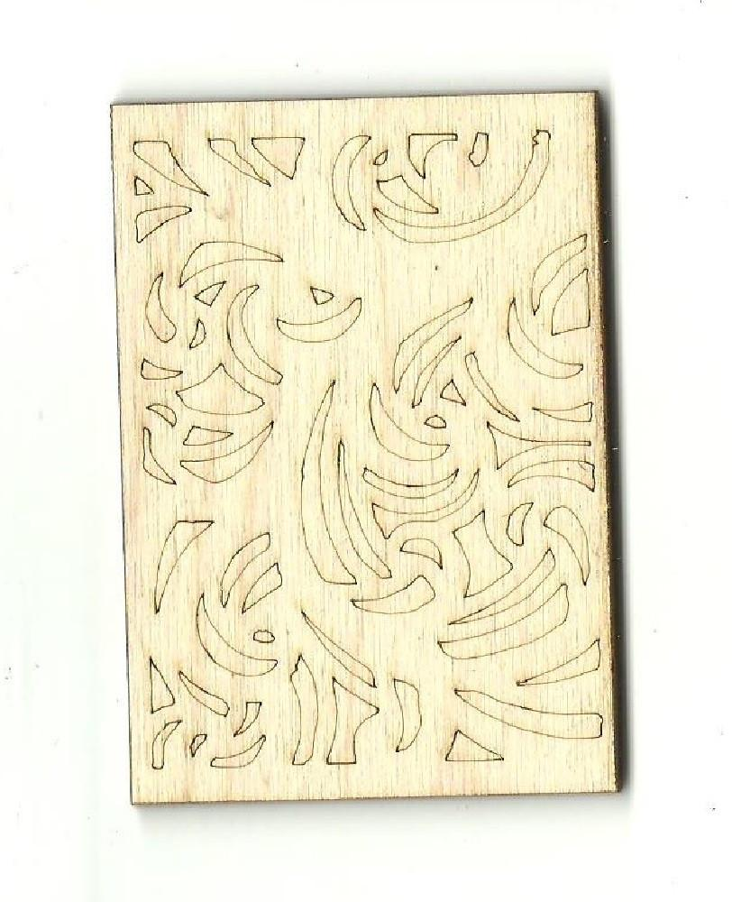 Design - Laser Cut Wood Shape Dsn11 Craft Supply