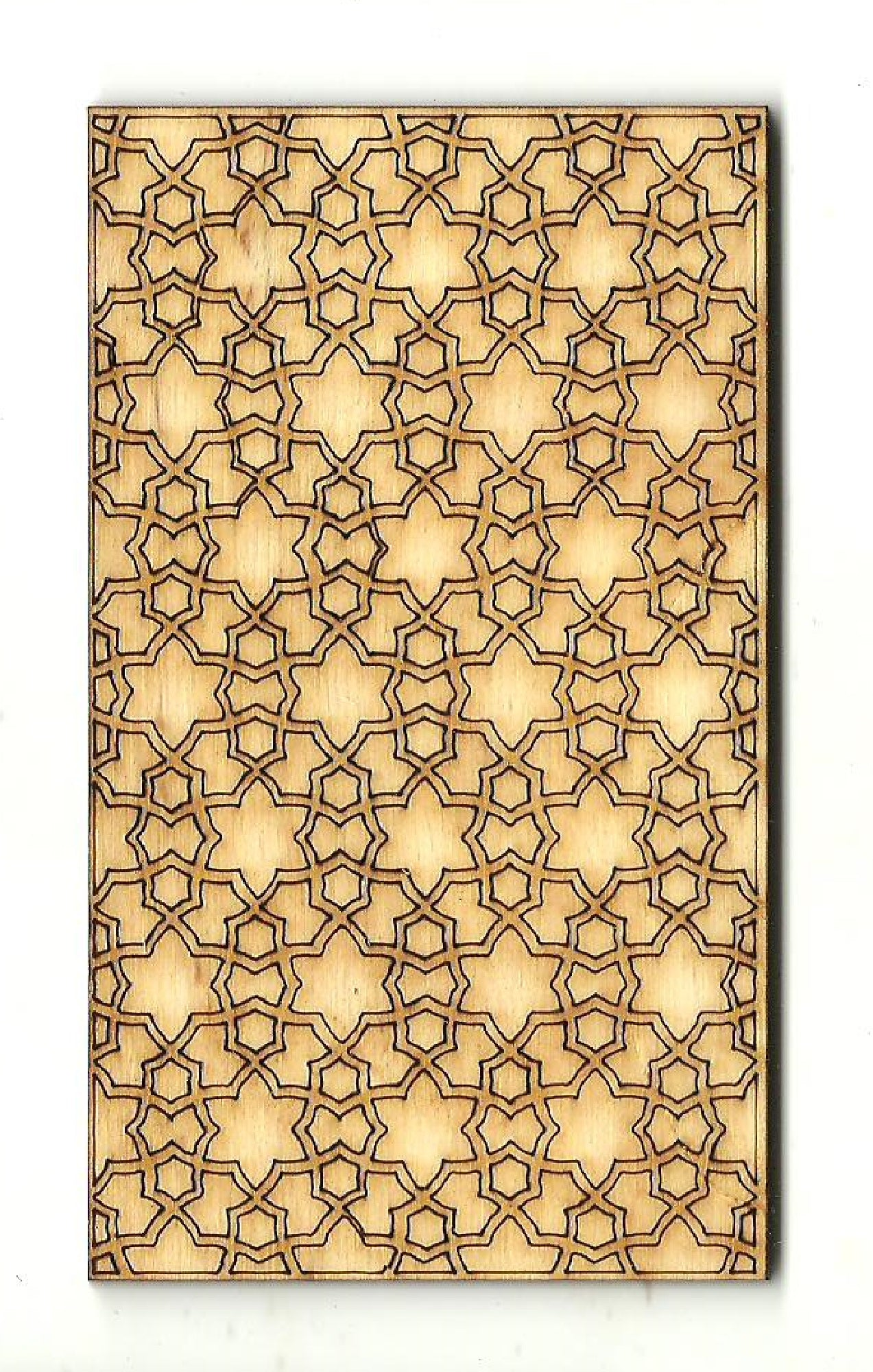 Panel Design - Laser Cut Wood Shape DSN123