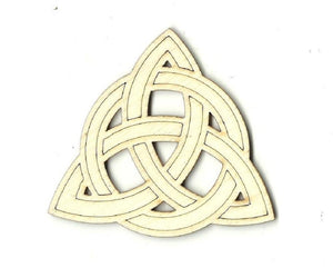 Celtic Design - Laser Cut Wood Shape Dsn27 Craft Supply