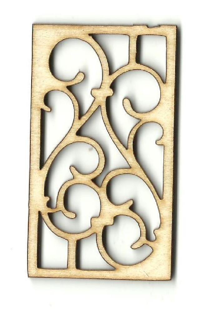 Design - Laser Cut Wood Shape Dsn34 Craft Supply