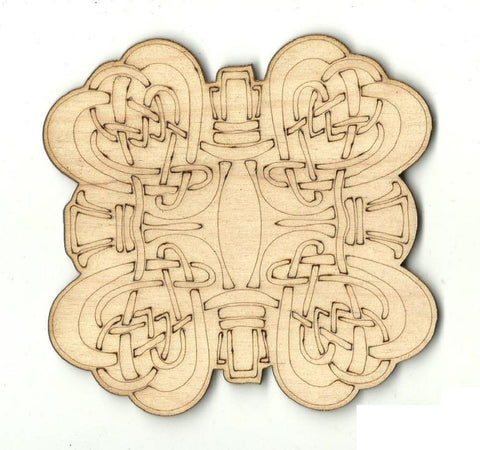 Celtic Design - Laser Cut Wood Shape Dsn51 Craft Supply