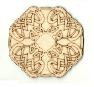 Celtic Design - Laser Cut Wood Shape Dsn52 Craft Supply
