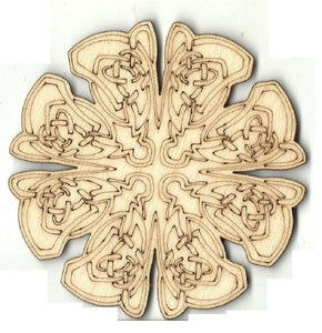 Celtic Design - Laser Cut Wood Shape Dsn53 Craft Supply