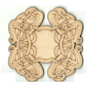 Celtic Design - Laser Cut Wood Shape Dsn55 Craft Supply