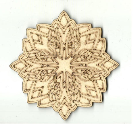 Celtic Design - Laser Cut Wood Shape Dsn56 Craft Supply