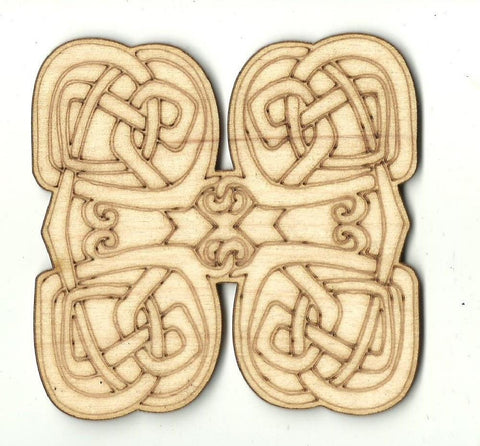 Celtic Design - Laser Cut Wood Shape Dsn57 Craft Supply