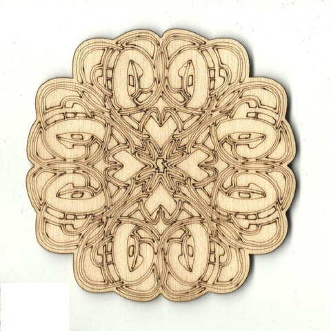 Celtic Design - Laser Cut Wood Shape Dsn58 Craft Supply