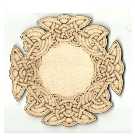 Celtic Design - Laser Cut Wood Shape Dsn59 Craft Supply