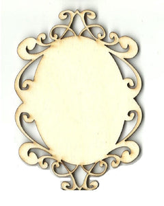 Decorative Plaque - Laser Cut Wood Shape Dsn75 Craft Supply