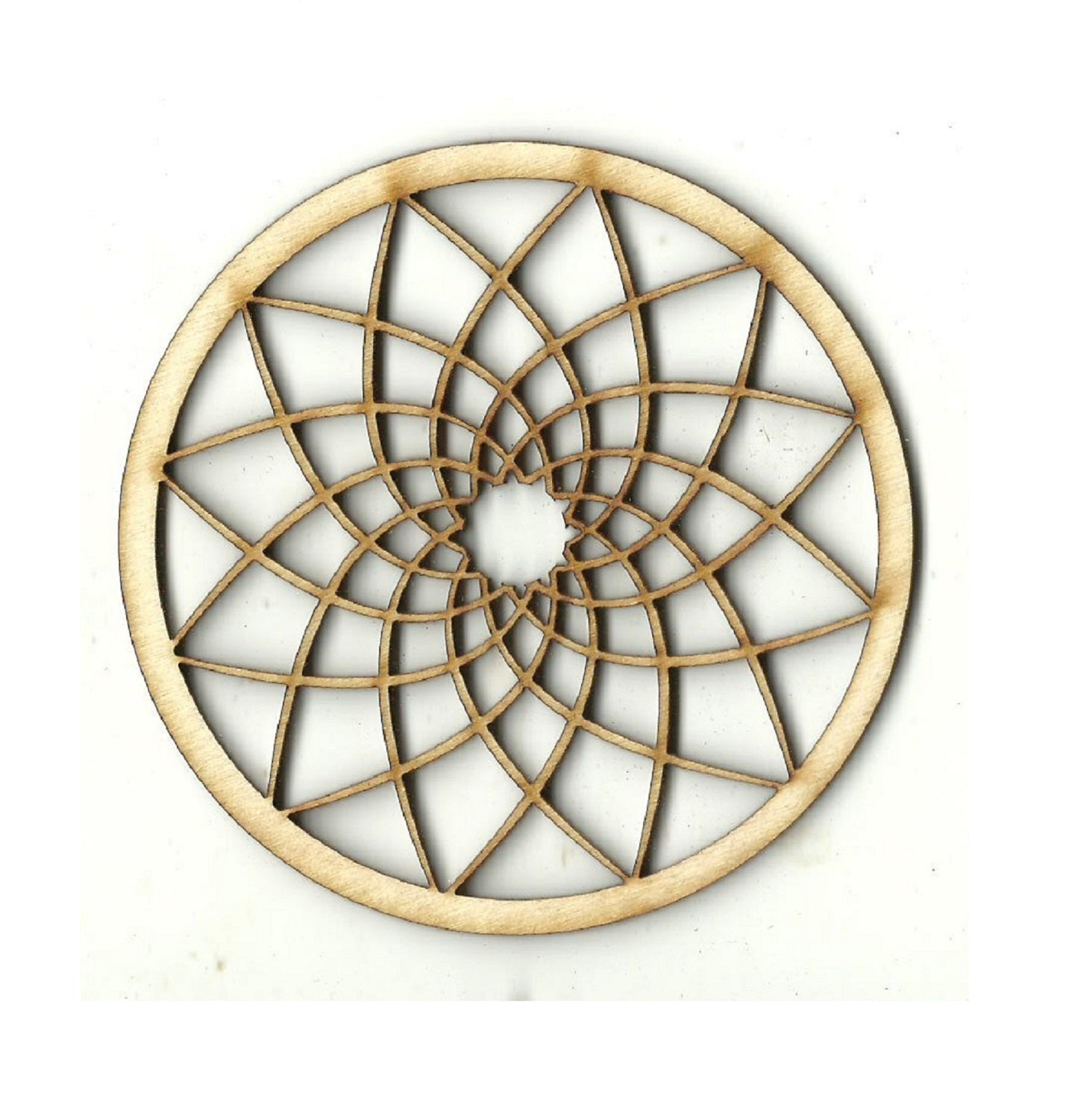 Circle Design - Laser Cut Wood Shape DSN8