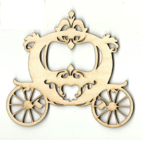 Carriage - Laser Cut Wood Shape Dsy143 Craft Supply