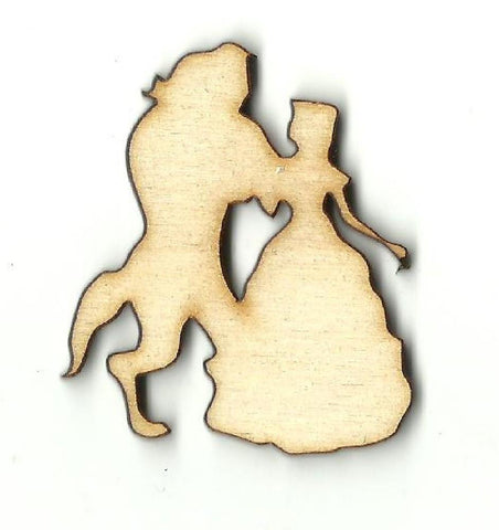 Beauty & The Beast - Laser Cut Wood Shape Dsy123 Craft Supply