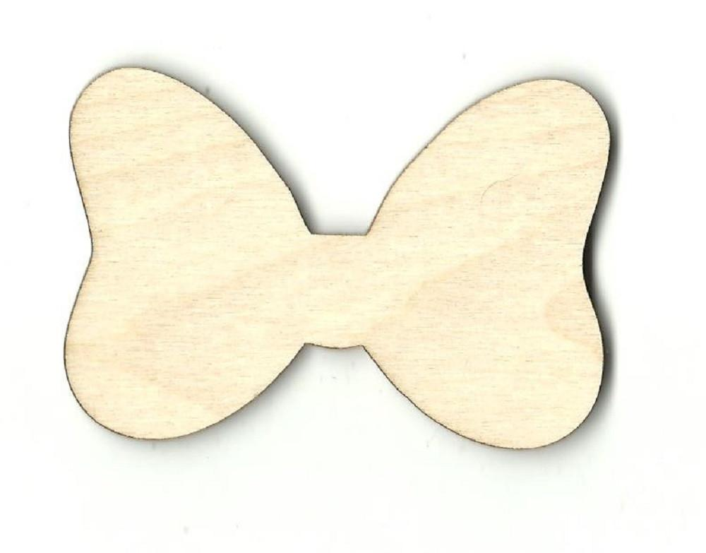 Minnie Mouse Bow - Laser Cut Wood Shape Dsy118 Craft Supply