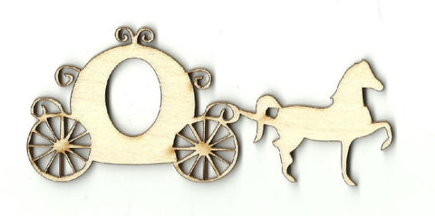 Carriage - Laser Cut Wood Shape Dsy6 Craft Supply