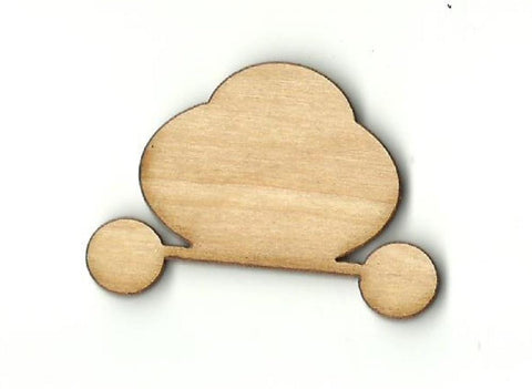 Carriage - Laser Cut Wood Shape Dsy77 Craft Supply