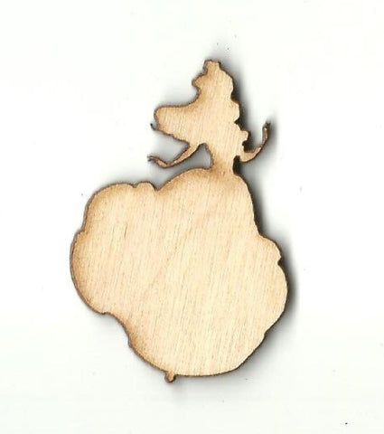Beauty Belle - Laser Cut Wood Shape Dsy93 Craft Supply