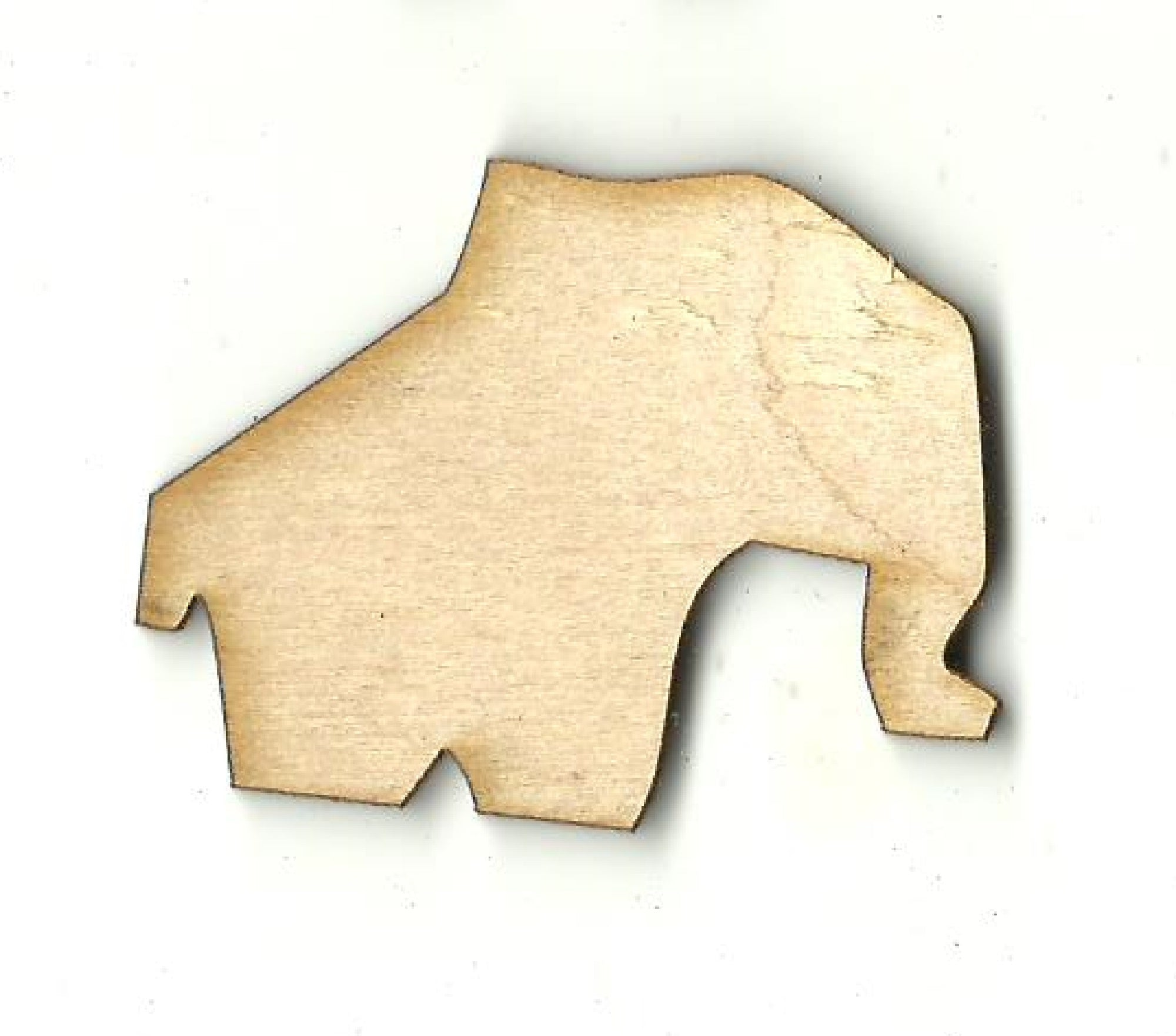 Elephant - Laser Cut Wood Shape ELE38