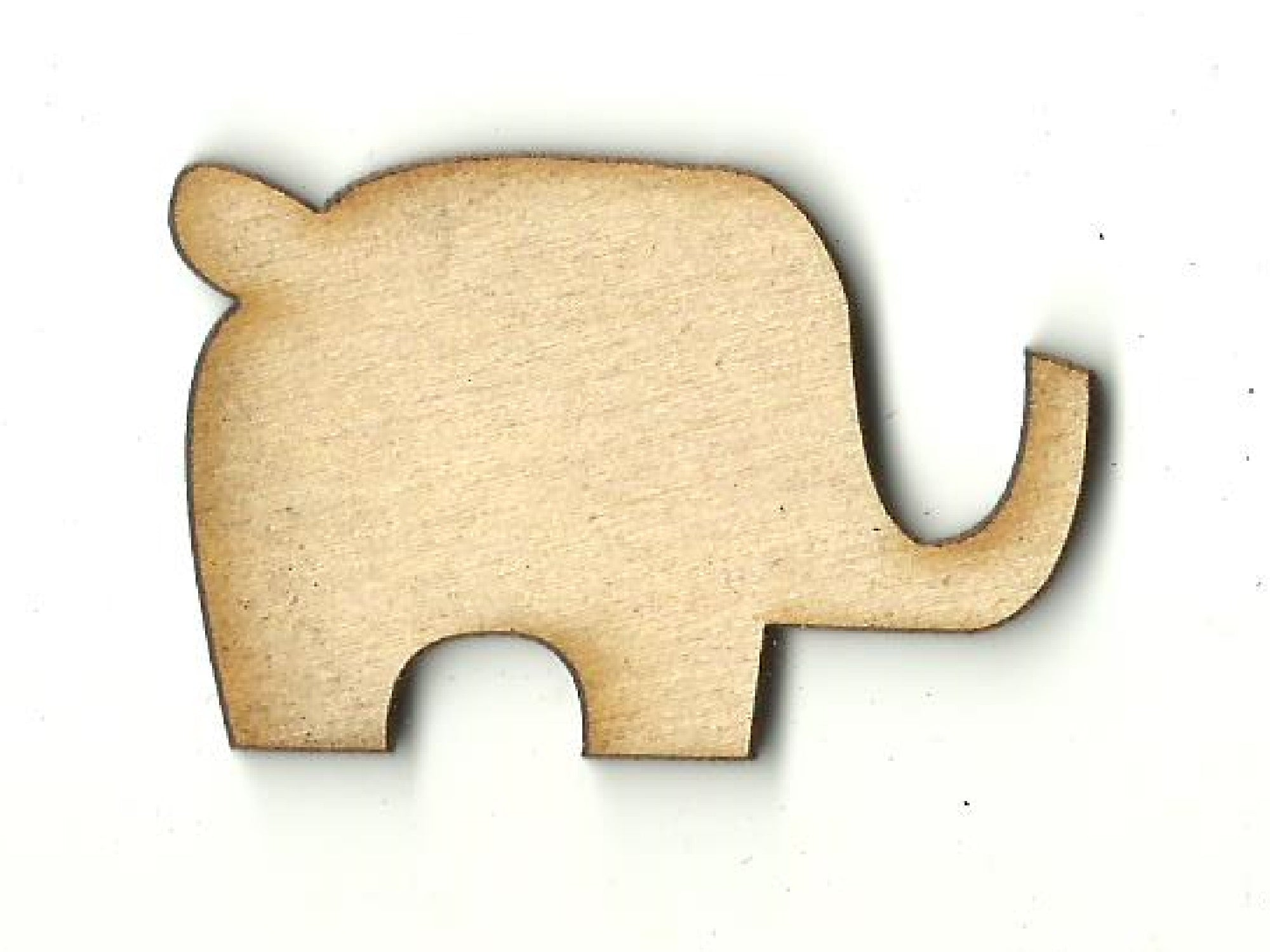 Elephant - Laser Cut Wood Shape ELE46