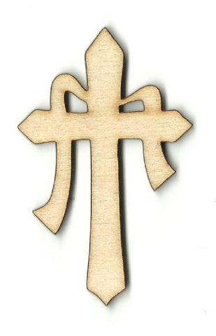 Easter Cross - Laser Cut Wood Shape Esr19 Craft Supply