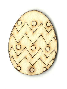 Easter Egg - Laser Cut Wood Shape Esr22 Craft Supply