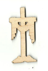 Easter Cross - Laser Cut Wood Shape Esr21 Craft Supply