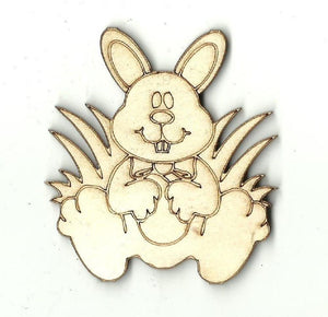 Easter Bunny - Laser Cut Wood Shape Esr6 Craft Supply