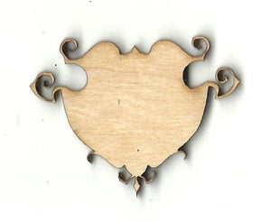 Banner Sign - Laser Cut Wood Shape Fal109 Craft Supply