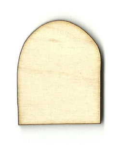 Gravestone Headstone - Laser Cut Wood Shape Fal164 Craft Supply