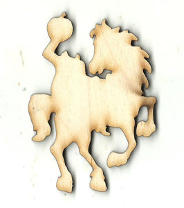 Headless Horseman - Laser Cut Wood Shape FAL230