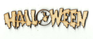 Halloween Witch By The Moon - Laser Cut Wood Shape Fal162 Craft Supply