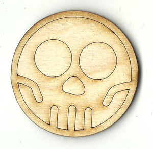 Skeleton - Laser Cut Wood Shape FAL251