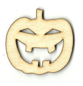 Pumpkin - Laser Cut Wood Shape Fal6 Craft Supply