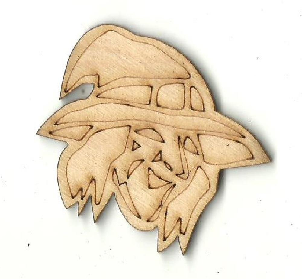 Witch - Laser Cut Wood Shape Fal86 Craft Supply