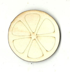 Orange Slice - Laser Cut Wood Shape Fod115 Craft Supply