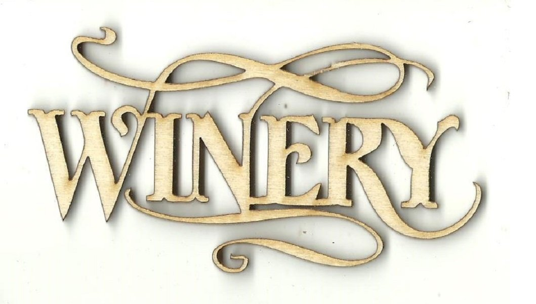 Winery - Laser Cut Wood Shape Fod170 Craft Supply