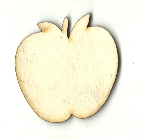 Apple  - Laser Cut Wood Shape FOD183