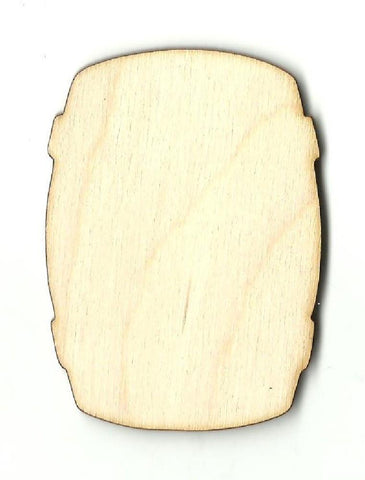 Barrel - Laser Cut Wood Shape Fod118 Craft Supply