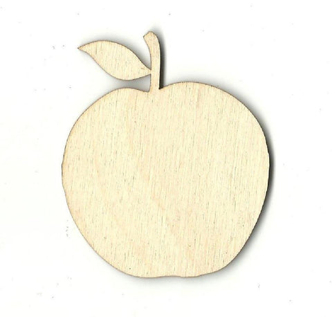 Apple - Laser Cut Wood Shape FOD50