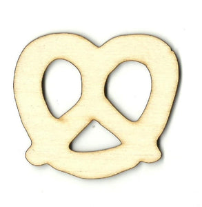 Pretzel - Laser Cut Wood Shape Fod51 Craft Supply