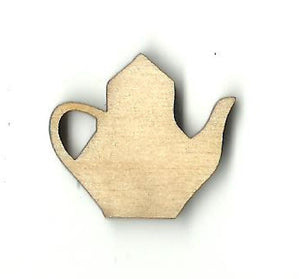 Teapot - Laser Cut Wood Shape Fod99 Craft Supply