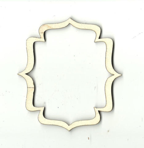 Frame - Laser Cut Wood Shape Frm11 Craft Supply