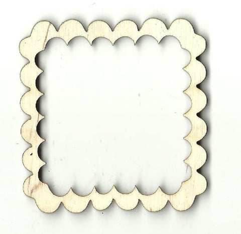 Frame - Laser Cut Wood Shape Frm12 Craft Supply