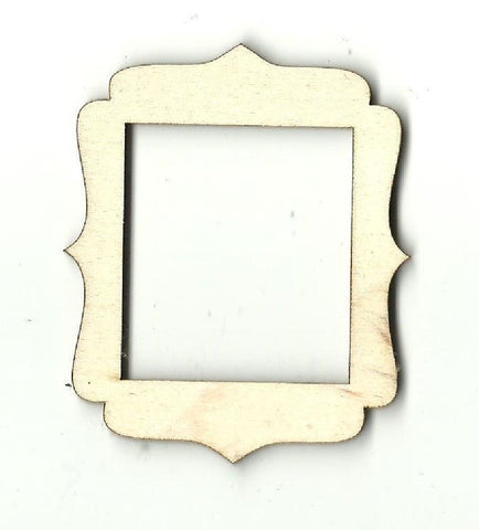 Frame - Laser Cut Wood Shape Frm14 Craft Supply