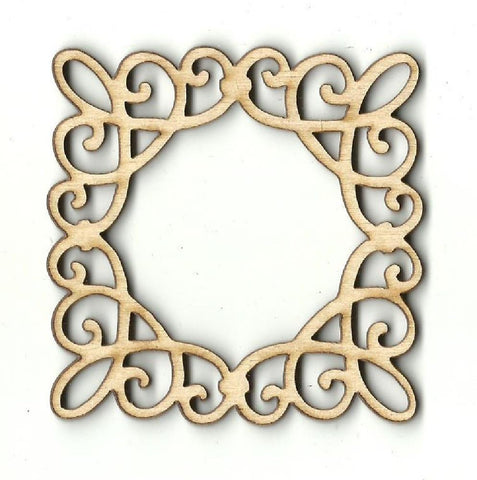 Frame - Laser Cut Wood Shape Frm15 Craft Supply