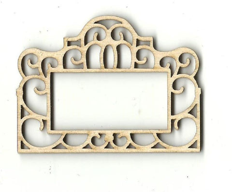 Frame - Laser Cut Wood Shape Frm16 Craft Supply
