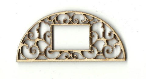 Frame - Laser Cut Wood Shape Frm17 Craft Supply