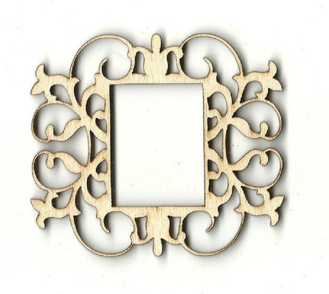 Frame - Laser Cut Wood Shape Frm18 Craft Supply