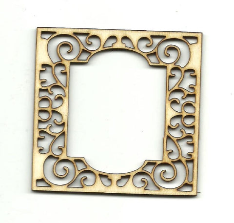 Frame - Laser Cut Wood Shape Frm1 Craft Supply
