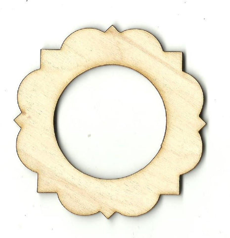 Frame - Laser Cut Wood Shape Frm26 Craft Supply