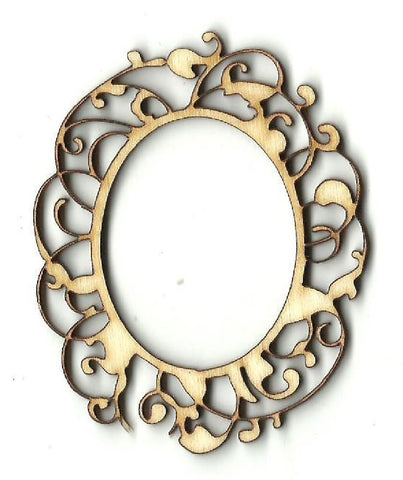 Frame - Laser Cut Wood Shape Frm30 Craft Supply